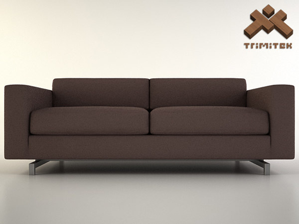3ds max sofa settee