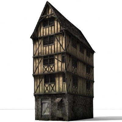 lightwave historical timberframe