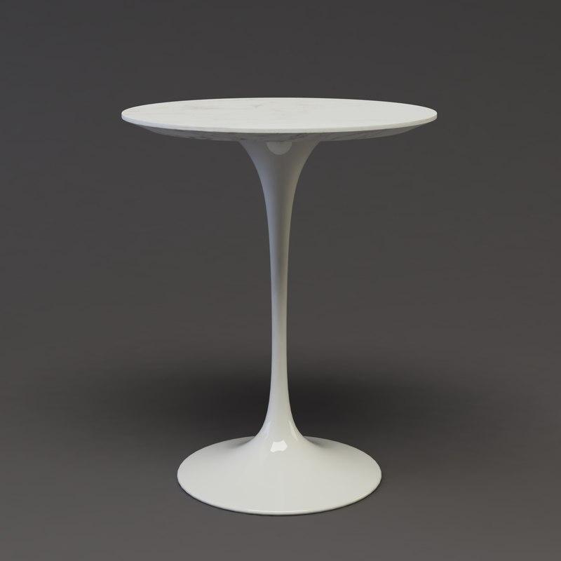 Tulip Table C4d