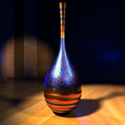 magic vase 3d 3ds
