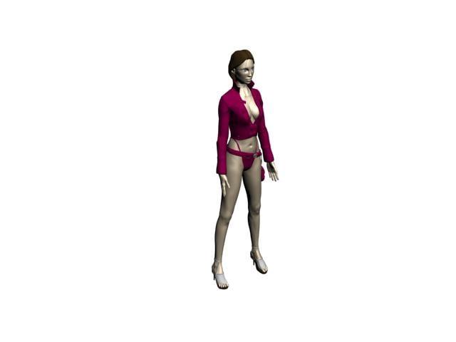 human woman girl max