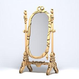 3d model provasi mirror
