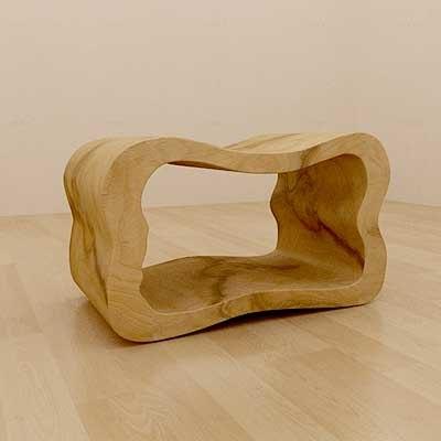 organic chair wood 3d max
