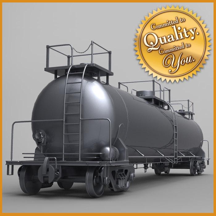 3dsmax rail tanker