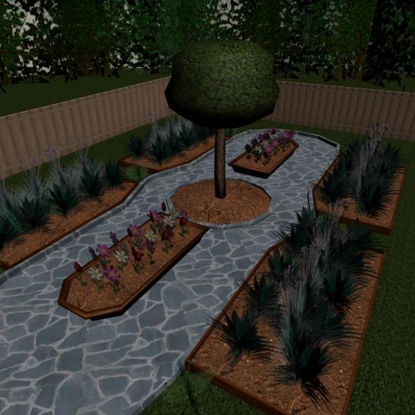 garden 3d max