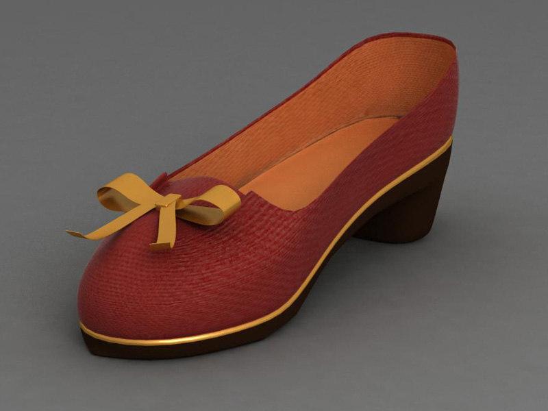 women shoe 3ds