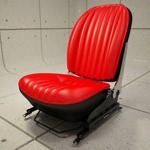 3d 356c car seat rail