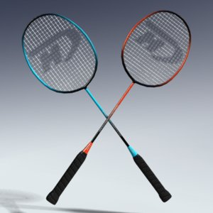 badminton racket 3d max