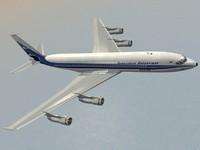 3ds max b 707-300 aerolineas argentinas