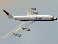 Boeing 707-300 British Airways