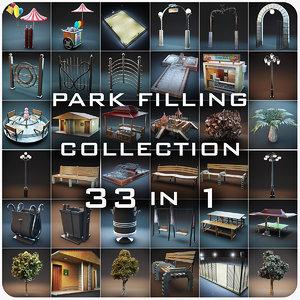 3d park files model