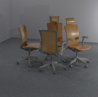 3ds max parametric office chair