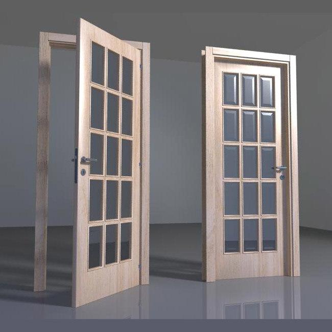 door handle 3d lwo