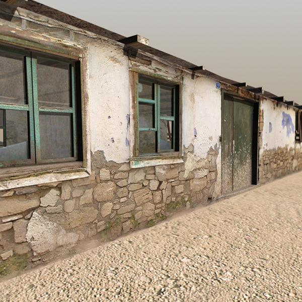 3d model afghan house 04