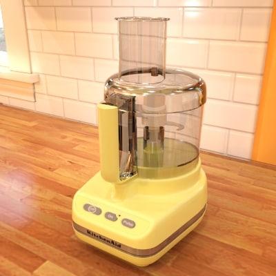 3d food processor model