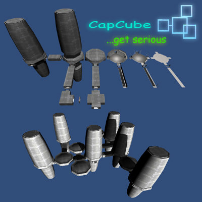 3d model building blocks