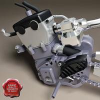 3d motorbike engine v2