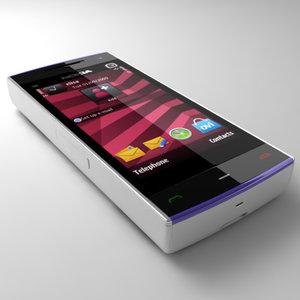 maya nokia x6 mobile phone