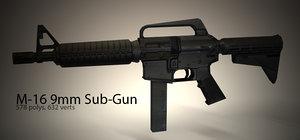 m-16 shots lwo