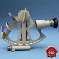 sextant modelled obj