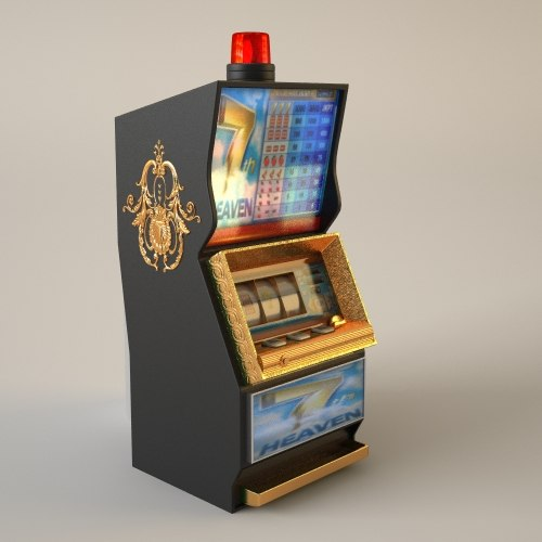 3d casino slot machine slotmachine model