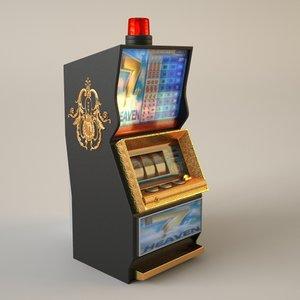3d casino slot machine slotmachine model