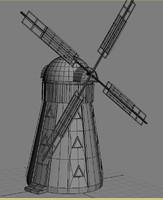 3d windmil model
