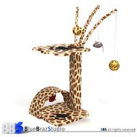 3d model cat tree