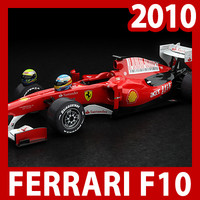2010 formula 1 f10 3d fbx