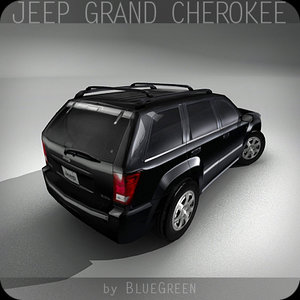 realtime jeep grand cherokee 3d model
