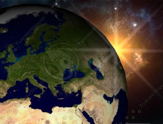 max earth sun