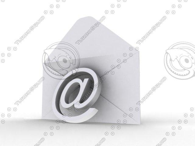 max envelope e-mail icon