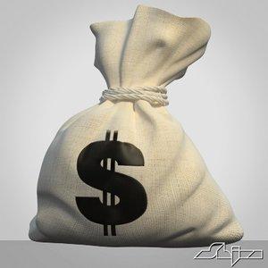 3d sack money