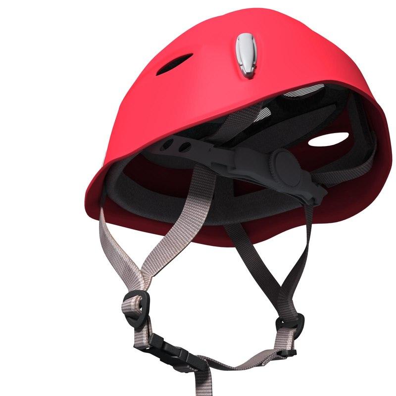 climbing helmet salewa 3d model