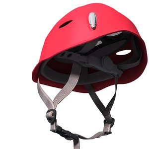 climbing helmet salewa 3d model
