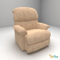 chair armchair velour max
