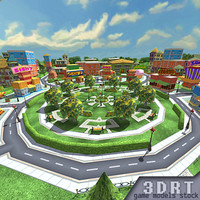 3DRT-Toonworlds-downtown-level-kit-ver.1.1.zip