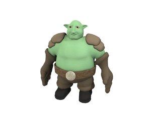 3d troll fantasy