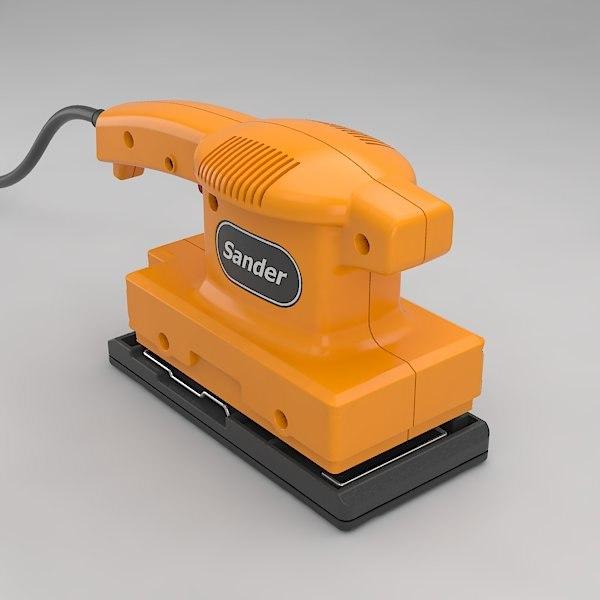 electric sander 3ds
