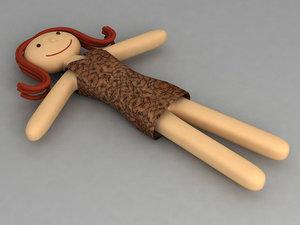 3d doll model