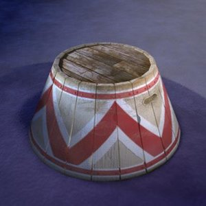 circus stool 3d model