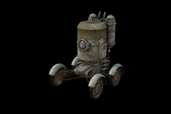 3d model vehicle future