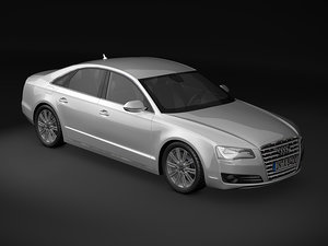 3ds max audi a8 luxury