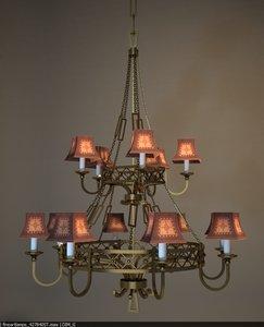 3d model fine art lamp -
