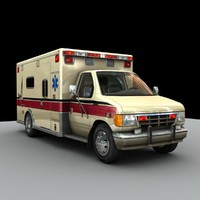 3d model ambulance games