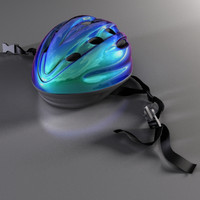 3d model bicycle helmet