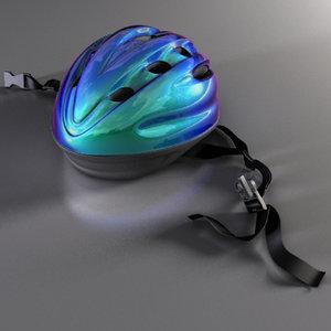 3d model bicycle helmet