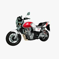 Motorcycle Honda CB1300 Super Four Naked Sport Bike Superbike motorbike