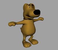 maya dog cartoon