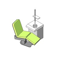 3d model medical equipment dental treatment